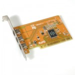 Value 3xIEEE 1394a Ports PCI Adapter 15.99.2182